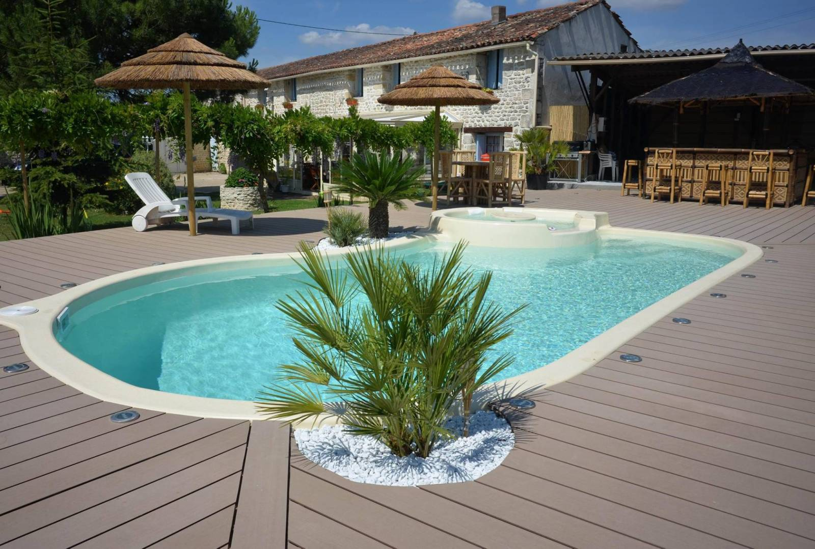 Fabricant de piscines coque montpellier freedom piscines for Spa avec piscine